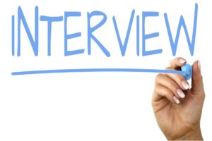 Interview Text Image